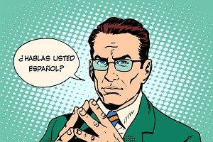 Usted habla español?