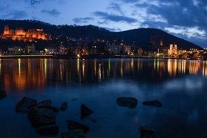 Heidelberg River Panorama