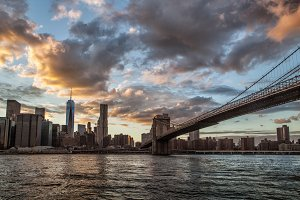 Lower Manhattan Skyline, NYC