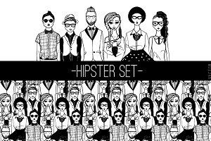 Hipster set.