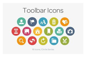 Circle Icons: Toolbar
