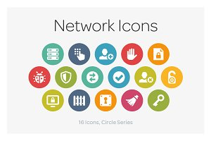 Circle Icons: Network