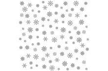 Snowflake Pattern - vector