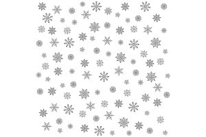Snowflake Pattern - vector