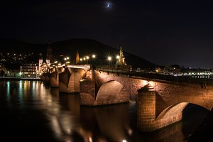 Heidelberg's Old Bridge 2
