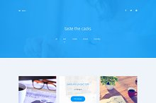 IMAGIX-Personal Website PSD Template