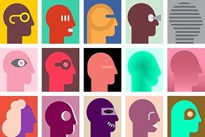 Human Heads 4