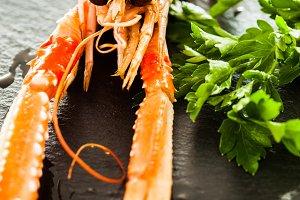 Crayfish tapas