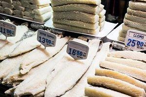 Codfish stall