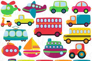 Transportation Clipart and Vectors