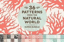 36 Natural Animal Pattern Bundle