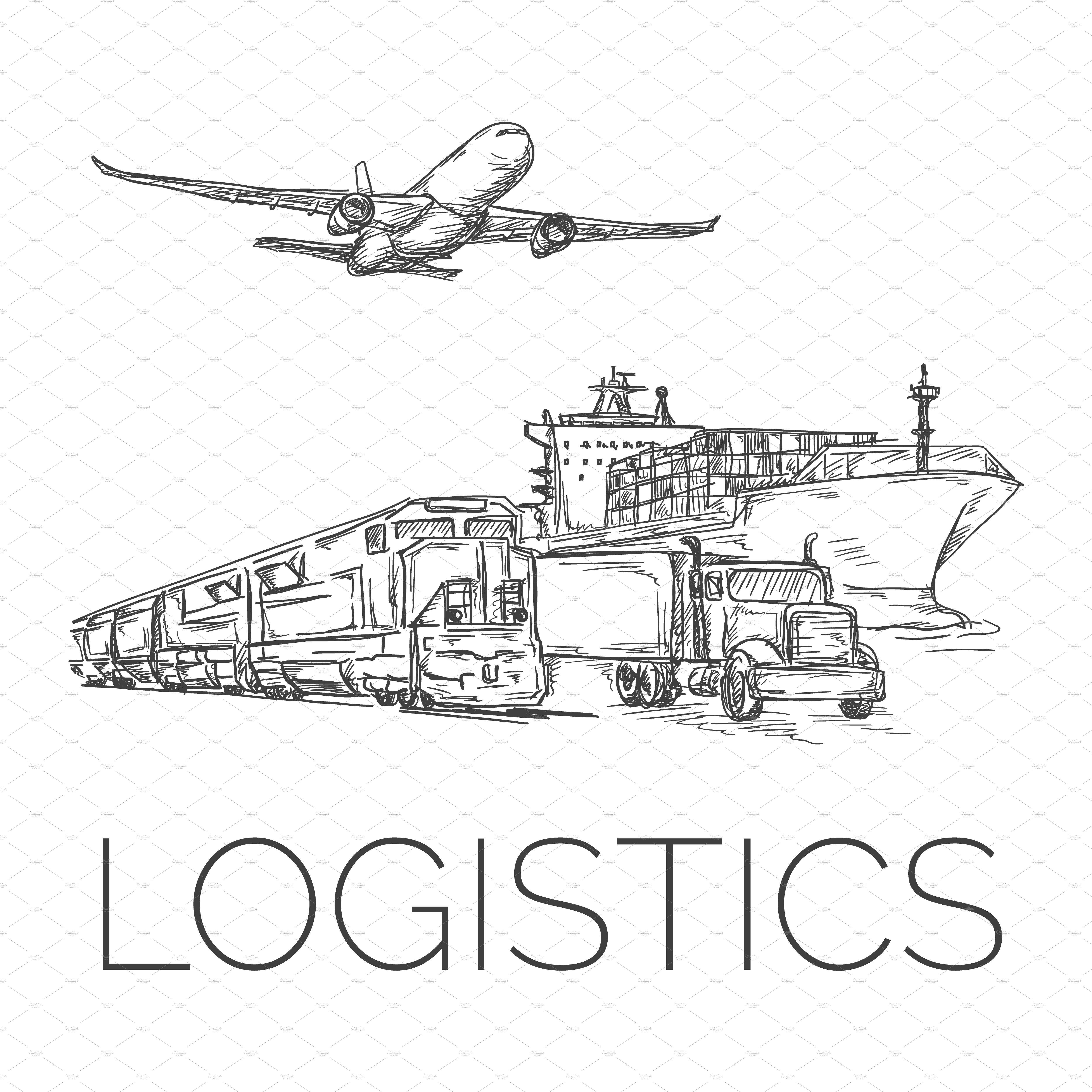 Logistics sign ~ Illustrations ~ Creative Market