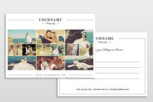 Gift Card Photo Marketing Template