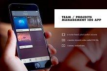 Team / Project Management iOS App