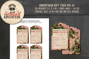 Christmas Gift Tags Vol.01
