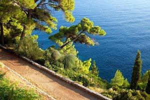Path Along Adriatic Sea