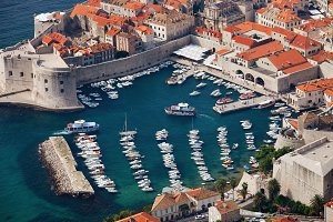 Dubrovnik Marina in Old Town