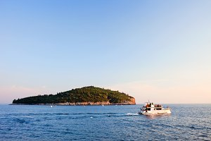 Lokrum Island in Croatia