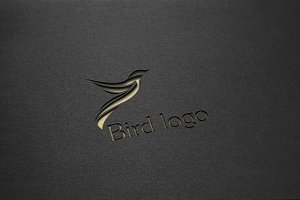 4 Colorful Bird Logo Template