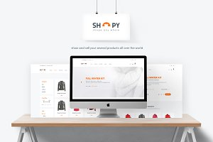 Shopy - Ecomerce Template