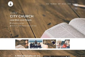Restore Church Theme (Bundle)