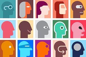 Human Heads 1