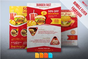 Bundle Flyers Fast Food
