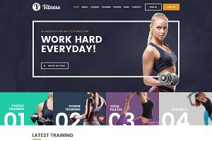 Vitness Gym Theme