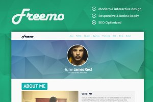 Freemo - Resume / Portfólio Theme