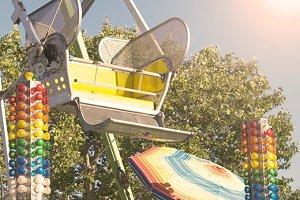 Ferris wheel bucket