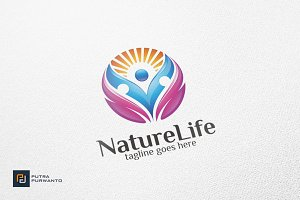 Nature Life / Human - Logo Template