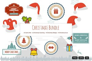 the Christmas Bundle Vector