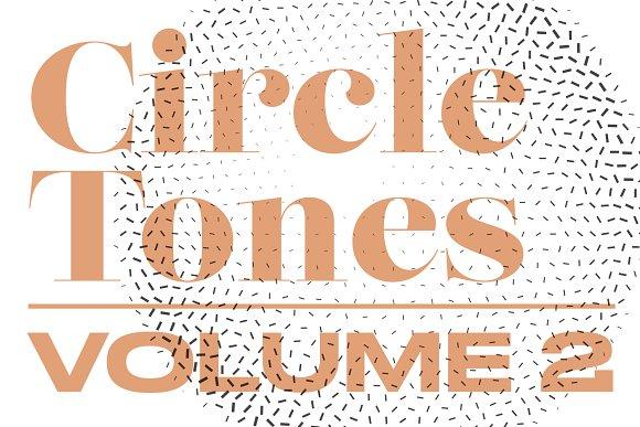 CircleTones Vol.2 | Gradient Circles - Textures
