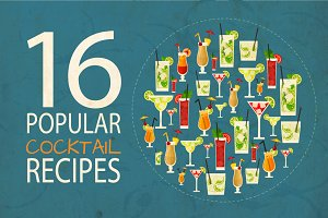 16 popular cocktail recipes