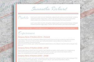 Pastel: CV + Cover Letter
