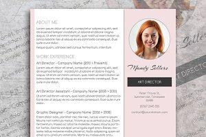Pink CV & Cover Letter
