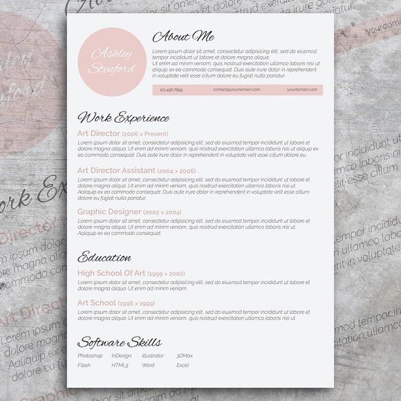 Beautiful Resume Design