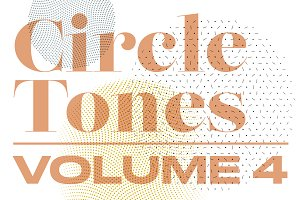 CircleTones Vol.4 | Gradated Circles