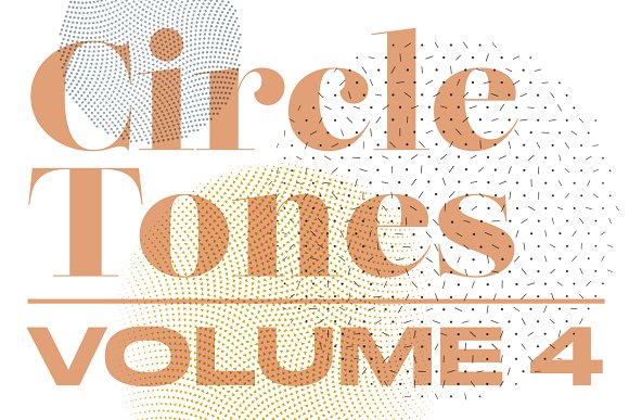 CircleTones Vol.4 | Gradated Circles - Textures