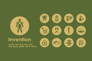 Invention icons