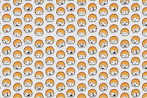 Sushi & Sushi seamless pattern