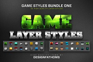 32 Game Layer Styles Bundle 1