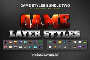 32 Game Layer Styles Bundle 2