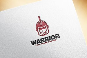 Warrior Logo Template