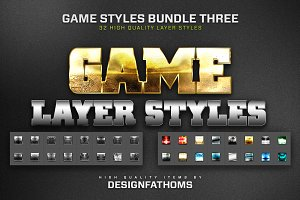 32 Game Layer Styles Bundle 3