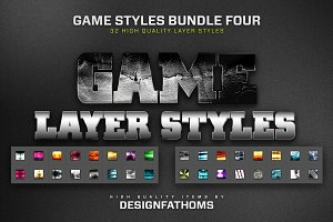 32 Game Layer Styles Bundle 4