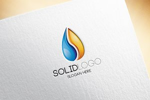Solid Logo Template
