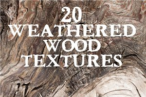 Weathered Wood - 20 Textures