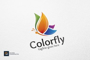 Colorfly / Butterfly - Logo Template