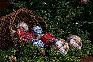 Christmas rustic still life